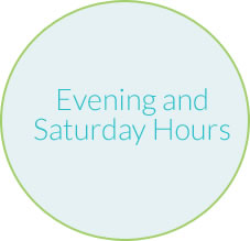 evening and saturday hours